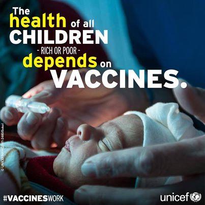 Unicef #VaccinesWork